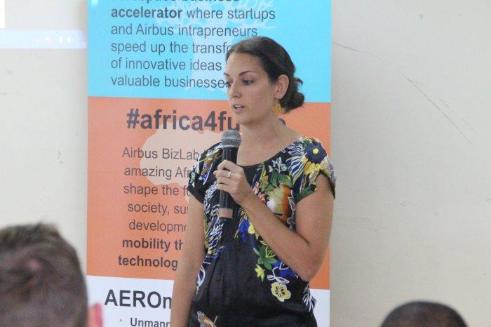 Kuunda 3D pitching at BizLab Africa